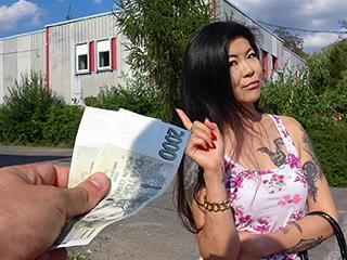 PublicAgent – Hot Asian chick loves girthy cock – Akasha Coliun