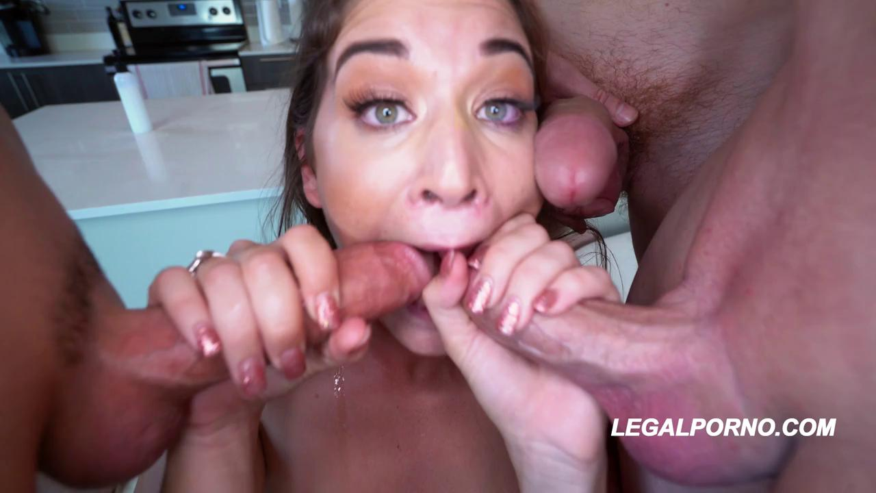 Kendra Heart Tiny Teen Destroyed On First Ever DP