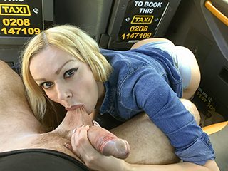 FakeTaxi – My Pussy for the Job – Amber Jayne