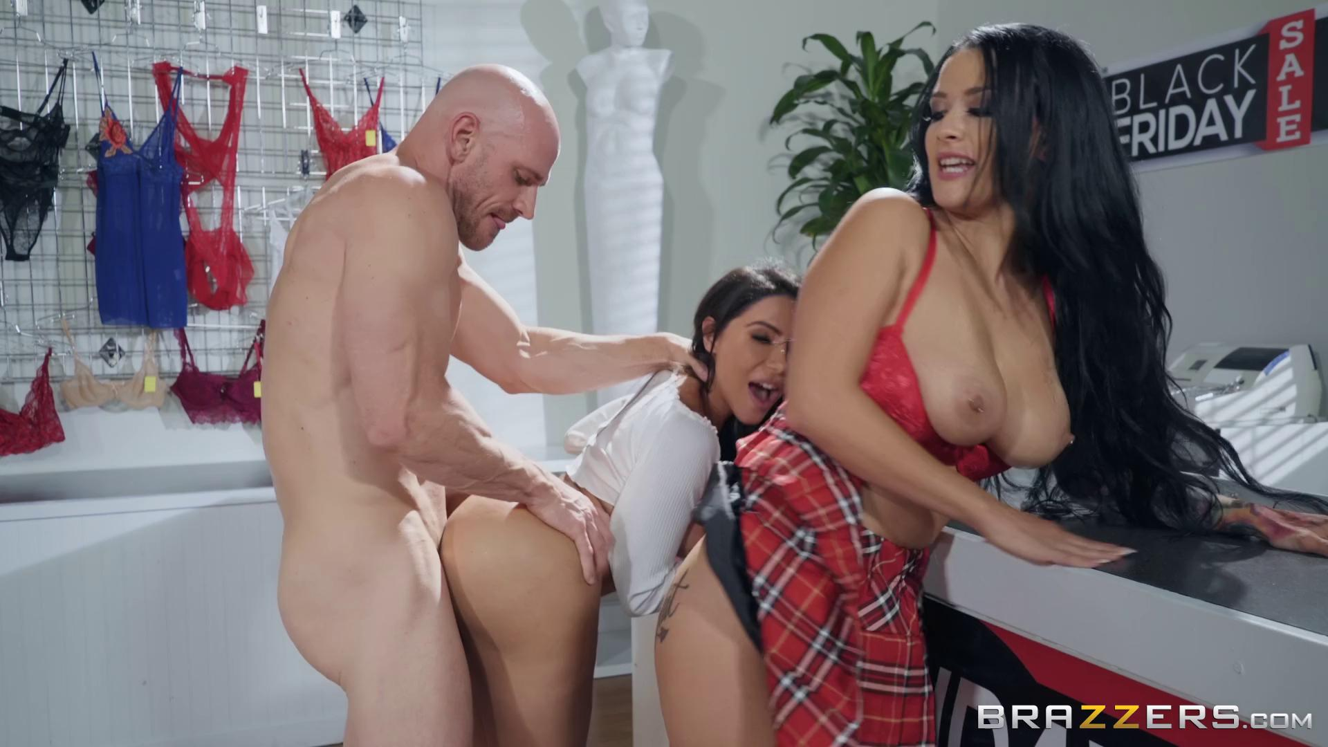 Lela Star And Katrina Jade Black Friday Fuckfest