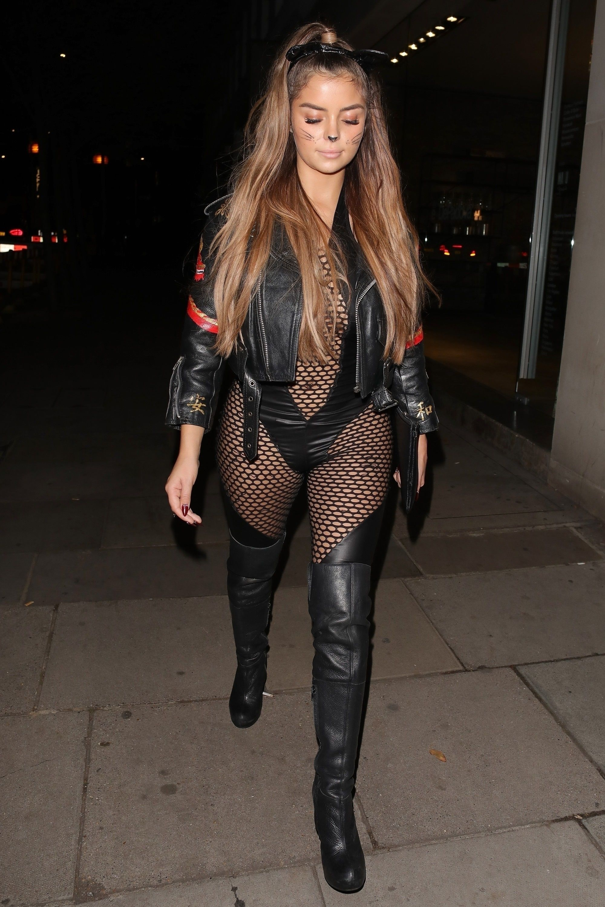 Demi Rose Mawby @Halloween party at Ours in London 27 Oct, 2018