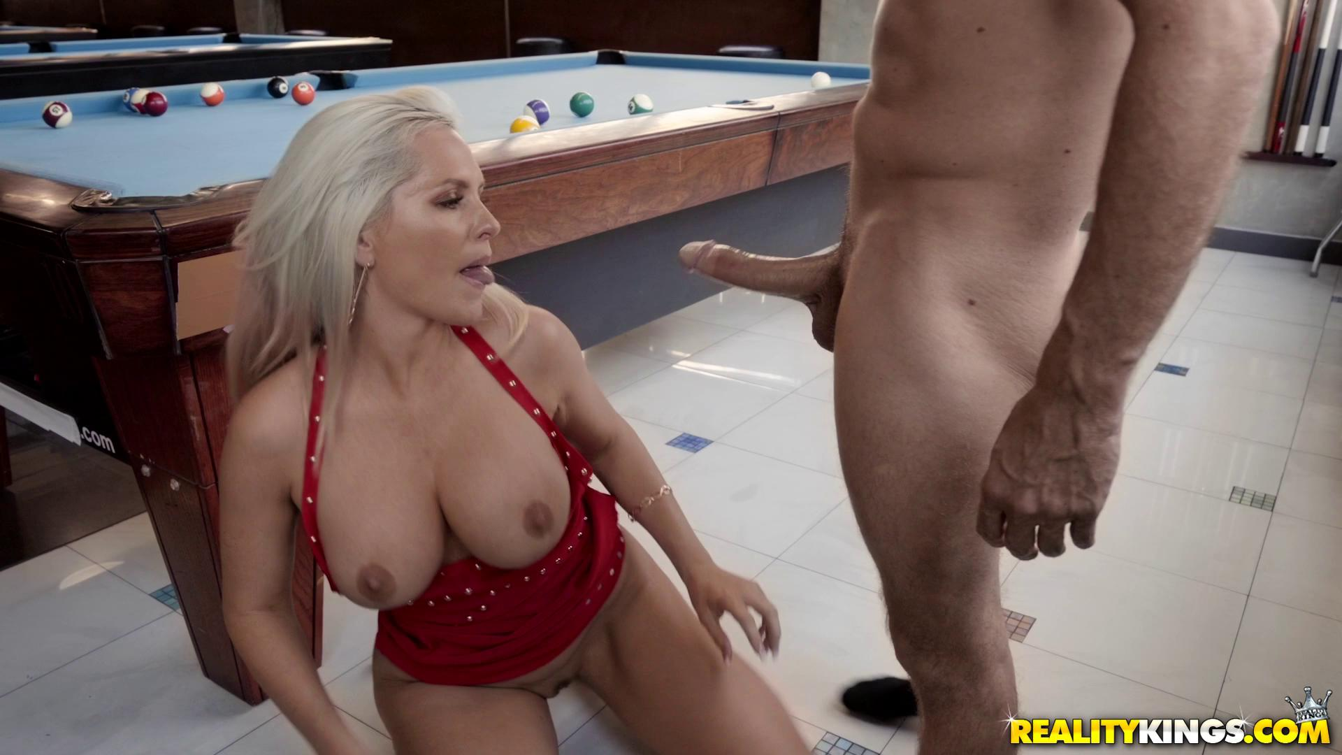 Alena Croft Pool Hall MILF